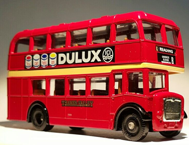 """1957 Bristol LD6G - Dulux Paints - Vanguards """"Days Gone"""" - Made in England"""