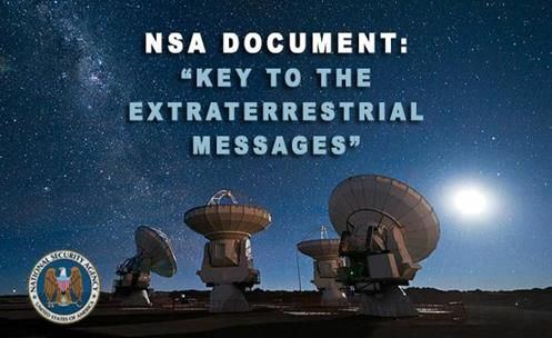 """The proof - NSA has on its Website Proof of Alien contact under the title """"Key to alien Messages"""""""