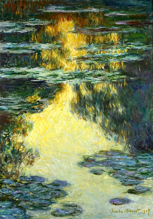 Claude Monet (1840-1926), Water Lilies, 1907. http://www,artsalonholland.nl/kunst-encyclopedie