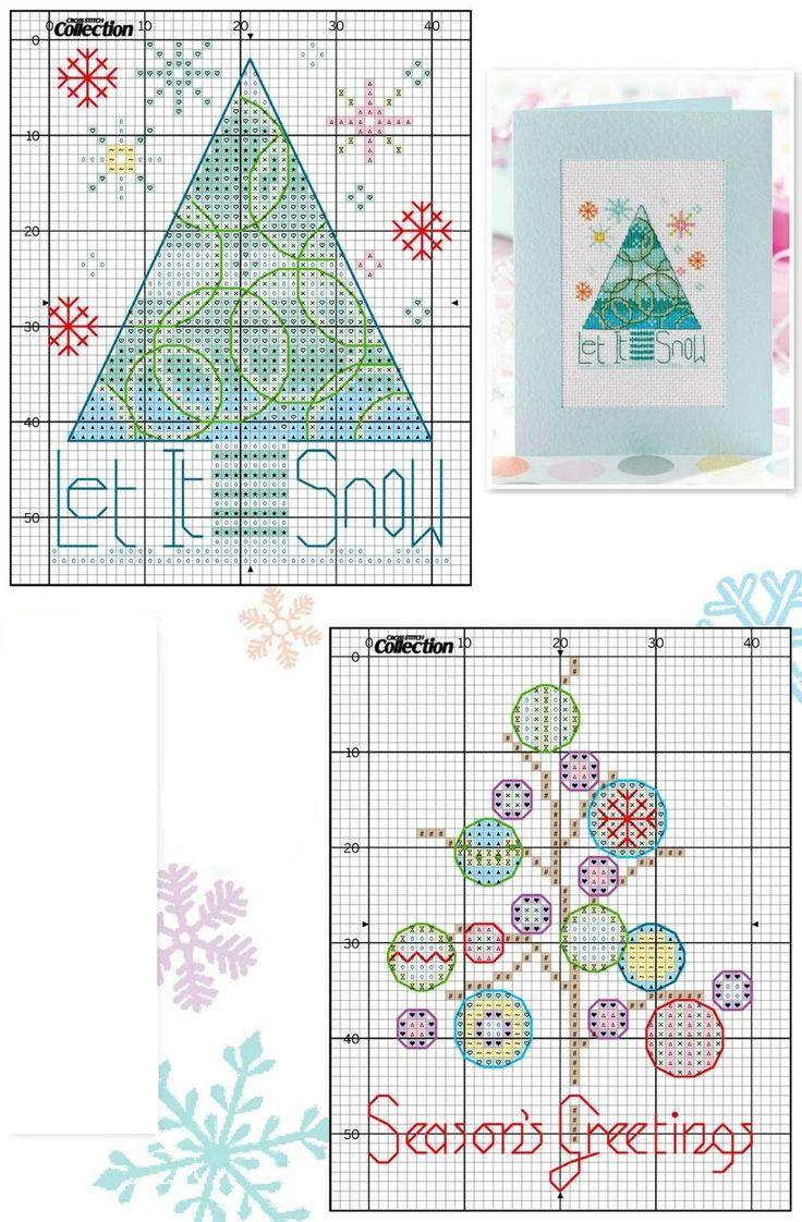My Cross Stitch Gallery. Árbol Navidad. Punto cruz