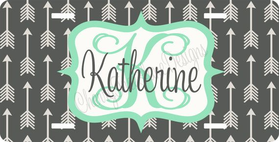 Personalized License Plate   Tribal Car by CherryTreeLaneDesign, $24.99