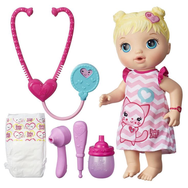 Baby Alive Doctor Better Now Bailey Blonde, New Brand, FREE SHIPPING! #newbrand