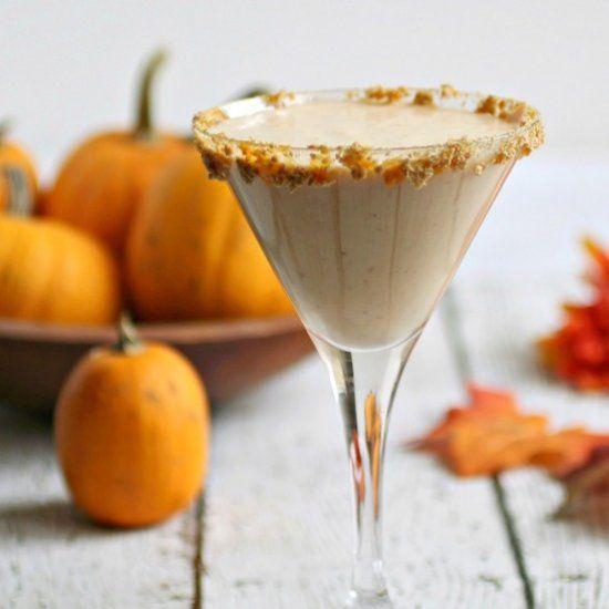 Pumpkin Cheesecake Martini