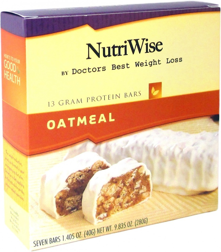 doctors best weight loss protein bars