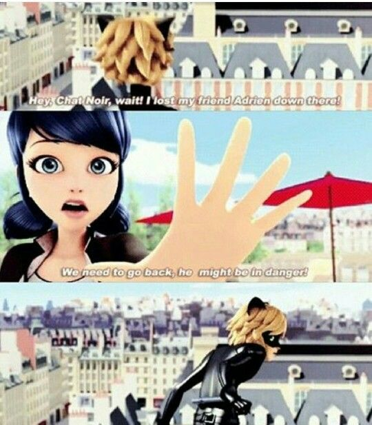 I feel like Adrien should have already noticed how much Marinette cares for him.