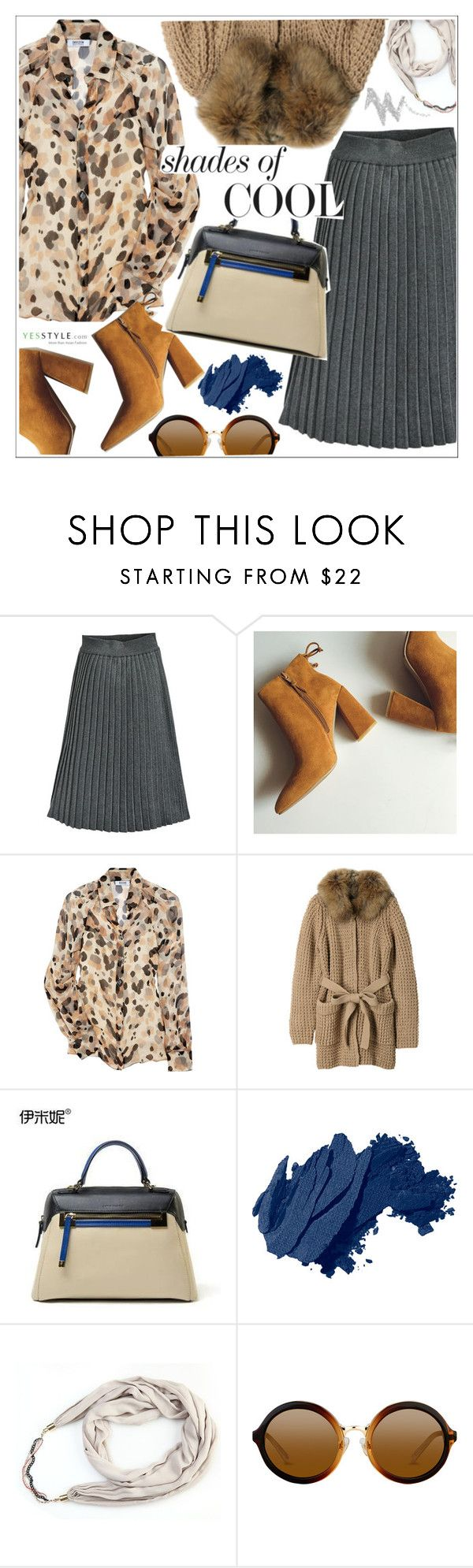 """YesStyle - 10% off coupon"" by teoecar ❤ liked on Polyvore featuring Moschino Cheap & Chic, Mihoko Saito, Emini House, Bobbi Brown Cosmetics, NYX, yesstyle, prefall and productPageSectionTop"