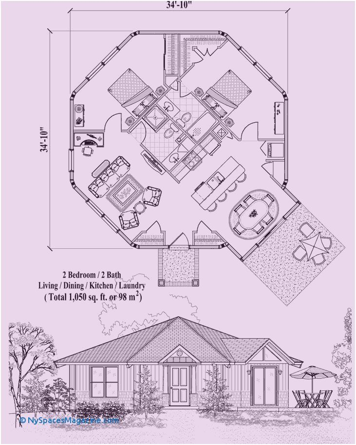 House Plan Books Line Fresh Home Plan Drawing Line Unique Home 1 Bedroom House Plans Octagon House Two Bedroom Tiny House