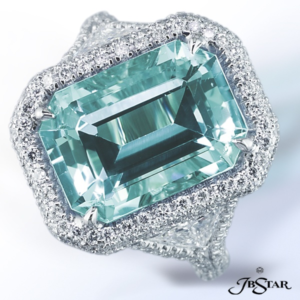 JB Star. Aqua marine & Diamonds. @gina peterson (show MissD!)