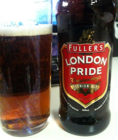 .Fuller's London Pride.....The classic English session ...