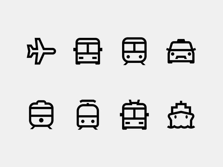 Public Transport by Alexander Khristoforov for Icons8