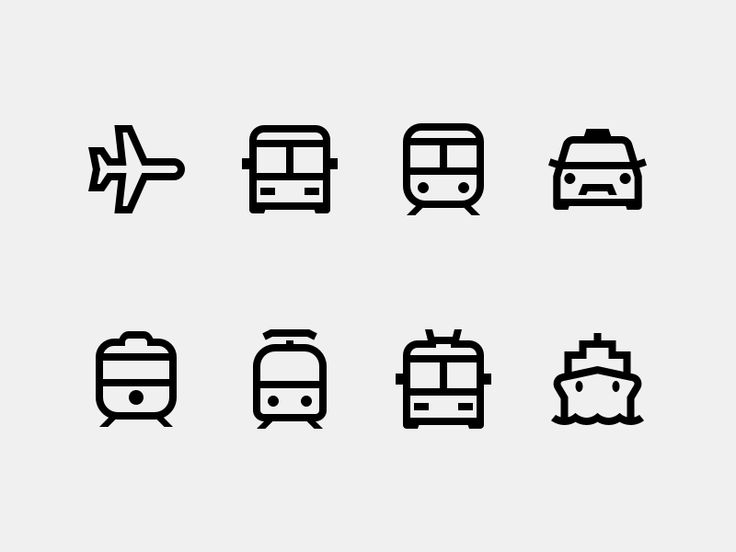 Public Transport by Alexander Khristoforov for Icons8