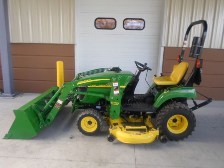 Small Farm Tractors With Mowing Deck And Front Loader