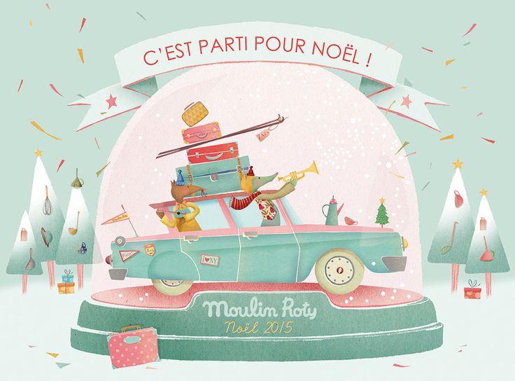 Moulin Roty - Catalogue de Noël 2015. C'est parti pour Noël avec les Tartempois !