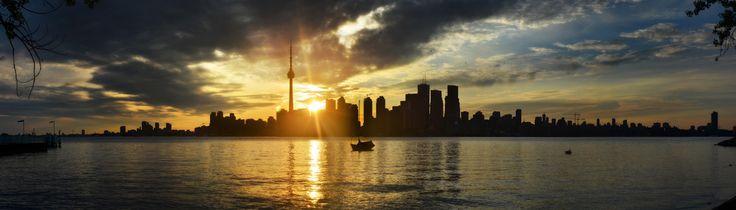 Toronto Panorama. Photo Credit: Anton Bielousov. CreativeCommons.org