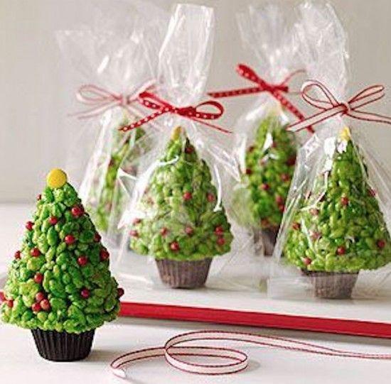 Rice Krispie Christmas Trees Tutorial