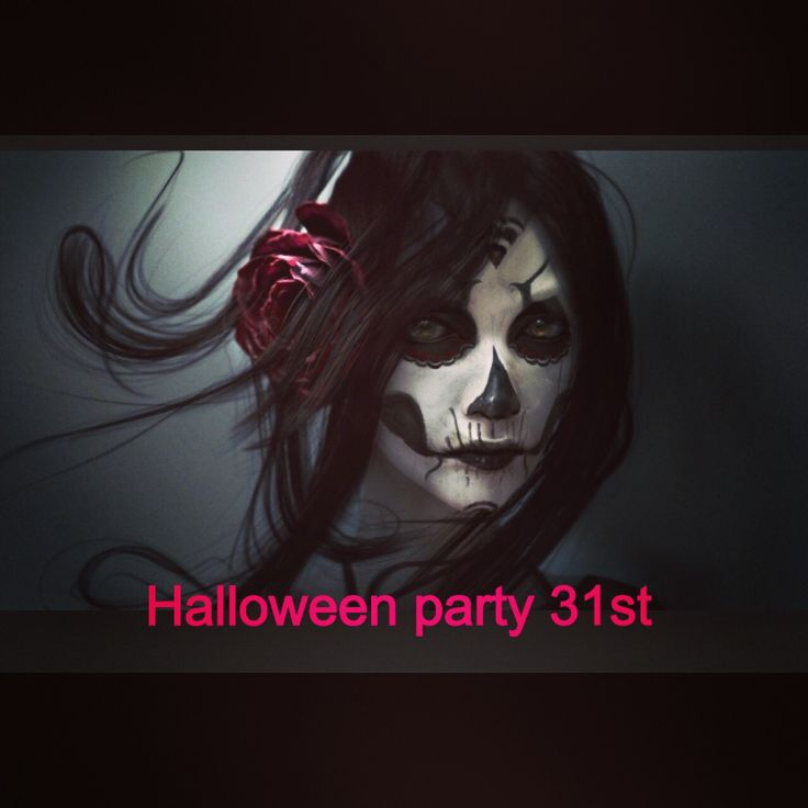 Halloween party @indivia studio half prices cuts 5pm to 8pm