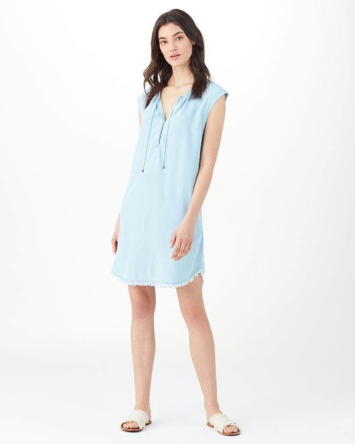 be488c41be41 Crosshatch Drop Shoulder Dress Polar- SPLENDID | Wear | Moda