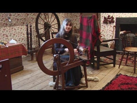 This guide shows you How To Spin Yarn On A Spinning Wheel Watch This and Other Related films here: http://www.videojug.com/film/how-to-use-a-spinning-wheel S...