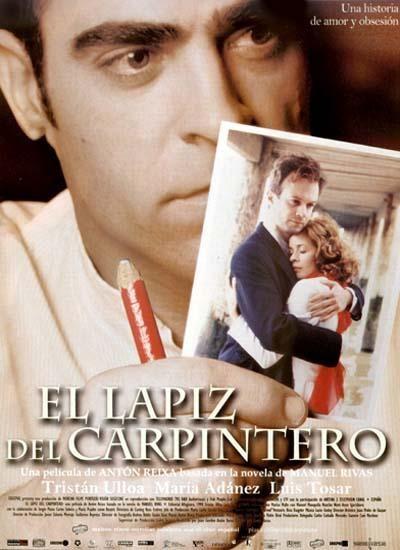 El lápiz del carpintero (2003) España. Dir.: Antón Reixa. Drama. Romance. Guerra civil española. Galicia - DVD CINE 1529