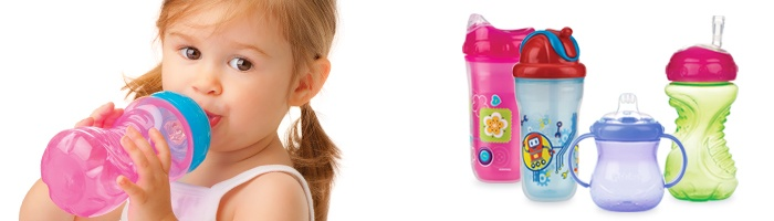 Here at Nuby we have created and developed a range of no-spill cups that promote natural healthy drinking through all the stages. www.nuby-uk.com/drinking