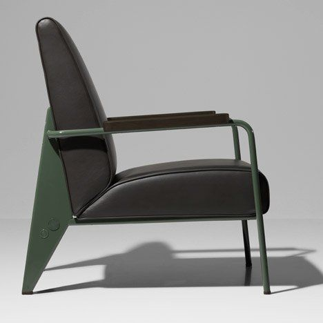G-Star RAW and Vitra join forces to relaunch Jean Prouvé's 1940s office furniture