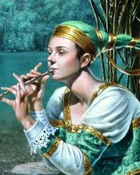 """Lullaby For The Butterfly King""  Michael Cheval"
