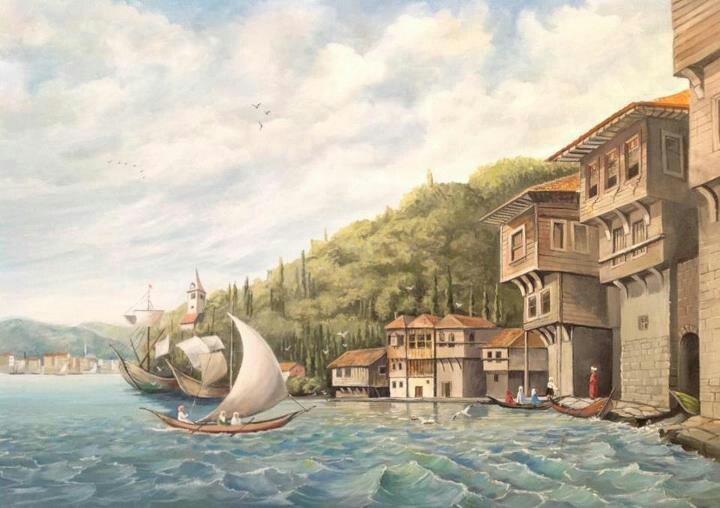 Ottoman istanbul ++++++++mmmmm++++++++ https://es.pinterest.com/erensukriye/eski-istanbul/