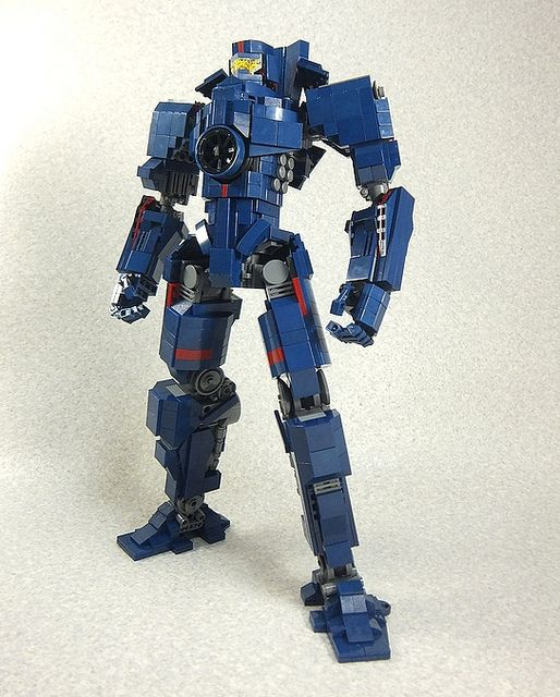 LEGO Gipsy Danger is go for launch - Pacific Rim