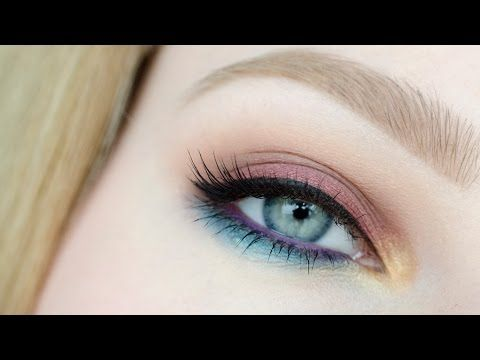 Kolorowy makijaż letni / na imprezę ** Makeup Geek ** Colorful makeup tutorial