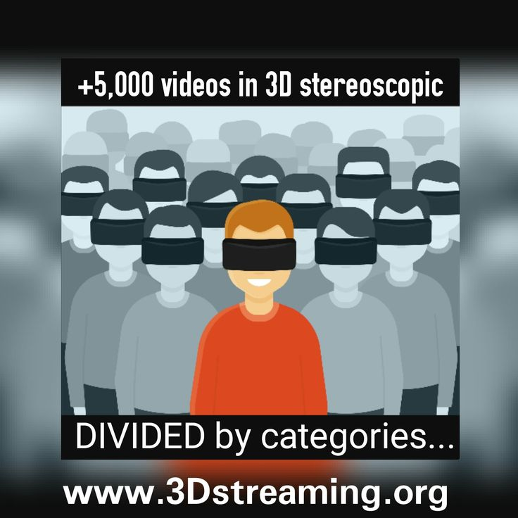 PUBLISH or WATCH passive #VR #CARDBOARD #HMD #VIRTUALREALITY #3D CONTENTS at (00) www.3Dstreaming.org (00) in #stereoscopy