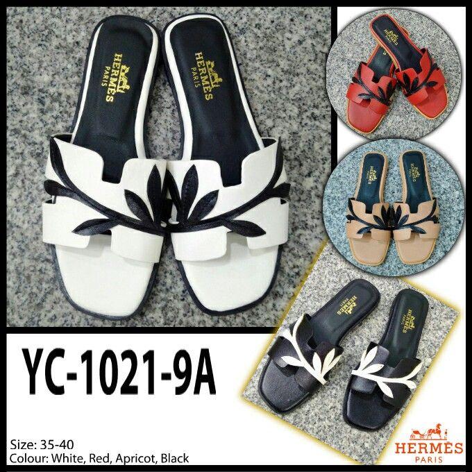 Hermes Sandals Flat YC1021-9A 35-40 265rb