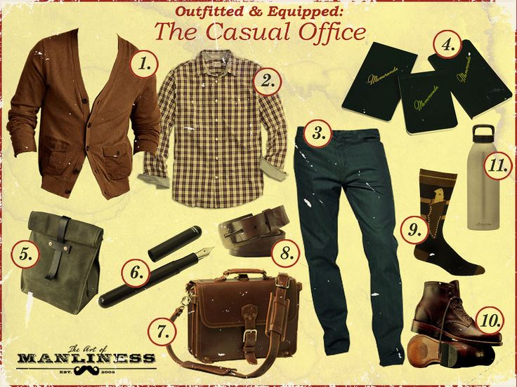 Art of manliness clothing