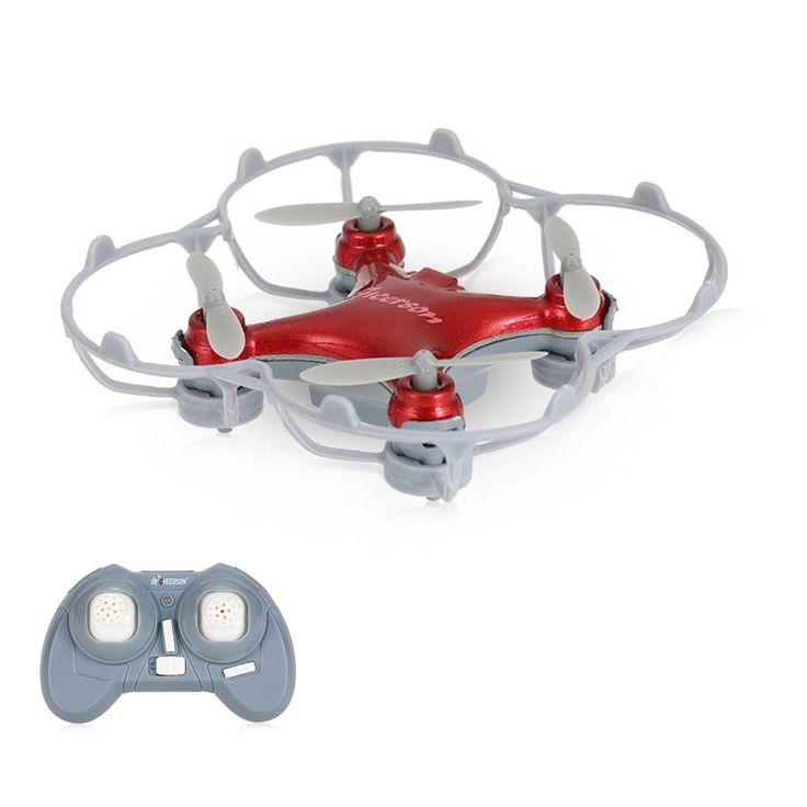 red Original Cheerson CX-10SE 2.4G 4CH 6-Axis Gyro Mini Drone UFO - Tomtop.com