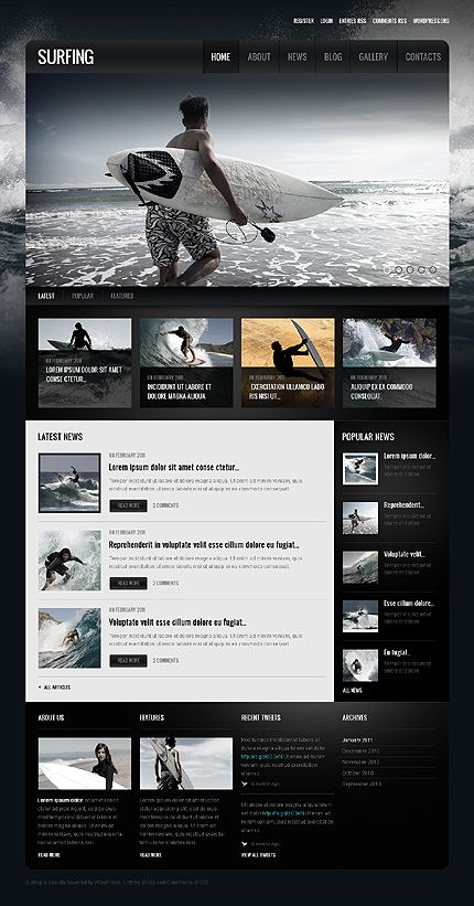 Website Template #39074. This is the version included in the free download so we can test out their templates.