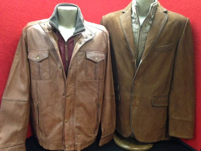 Check out these 2 new exceptional leather jackets by Flynt.  Both have removable linings and are made with great attention to detail.  You must see them to truly appreciate this line. If you are in the market for a new leather jacket you want great style, quality and something that will last.  Come see us and find just what you're looking for.  #leather #Flynt