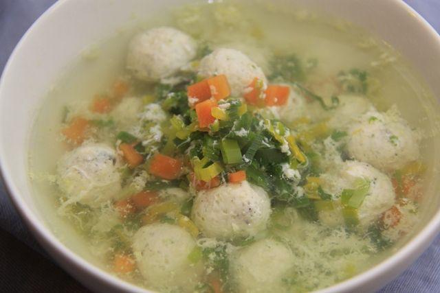 Wiki Fit | Очень лёгкий суп с куриными фрикадельками! И 265 ккал. в 1 порции:-)