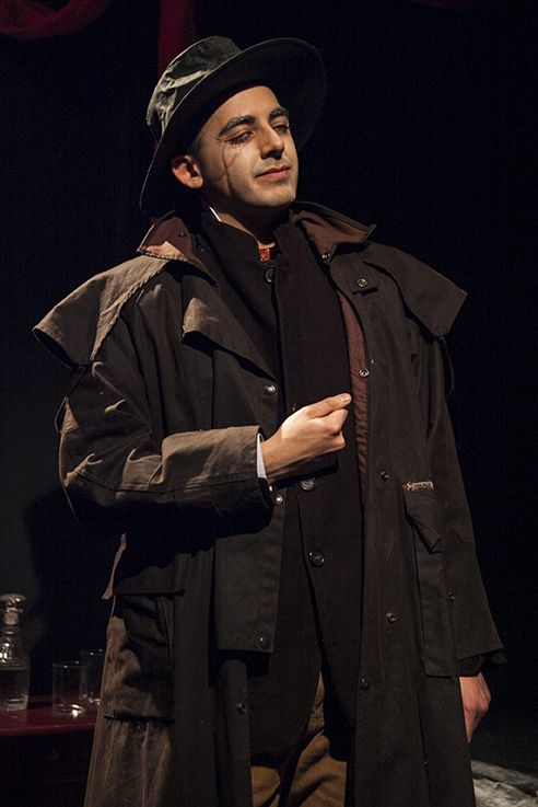 Dracula, 2015, The Lion and Unicorn Theatre. Based on the novel by Bram Stoker, Adapted & Directed by Simon James Collier, Movement Direction by Omar F. Okai
