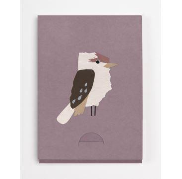 Mini Pocket Notepad Kookaburra - Bobangles #SundayPaper #Australia #notepad #kookaburra