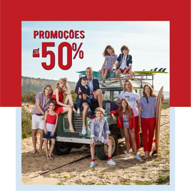Promoções até -50% l Woman, Man & Kids Aproveite o melhor do Verão com promoções até -50% na sua Loja Lion of Porches e Loja Online. www.lionofporches.pt