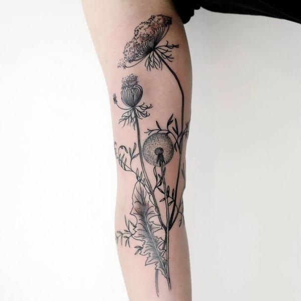 Victor J. Webster  fine black lines tattoos