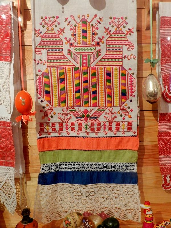 Народное искусство - текстиль - Музеи Великого Устюга. Этнографический. Продолжение.