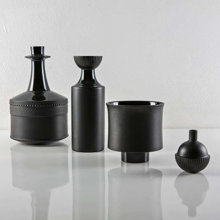 Set of Three Vases by Tapio Wirkkala for Rosenthal