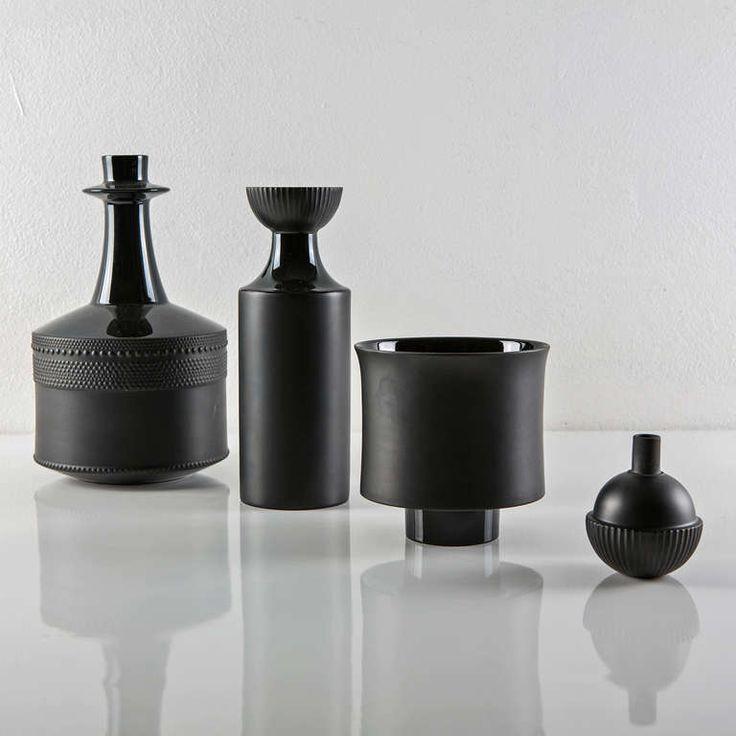 Set of Three Vases by Tapio Wirkkala for Rosenthal