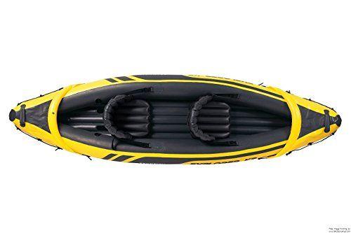 4x Intex Explorer K2 Kayak - Yellow/Black  Price Β£525.89