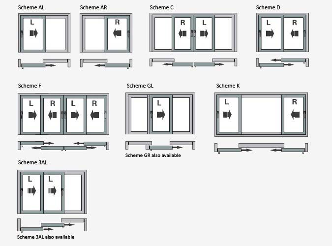 Sliding Doors Plan