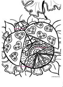 25 best Ladybug Coloring Pages images on Pinterest