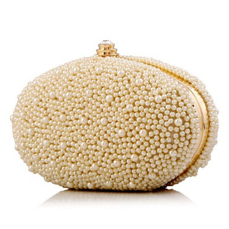 2016 Fashion Diamond Finger Ring Pearl Evening Bags Wedding Bride Bridesmaid Evening Clutch Bags Luxury Brand Ladies Bags  #eveningbag #eveningclutch #clutch #partybag