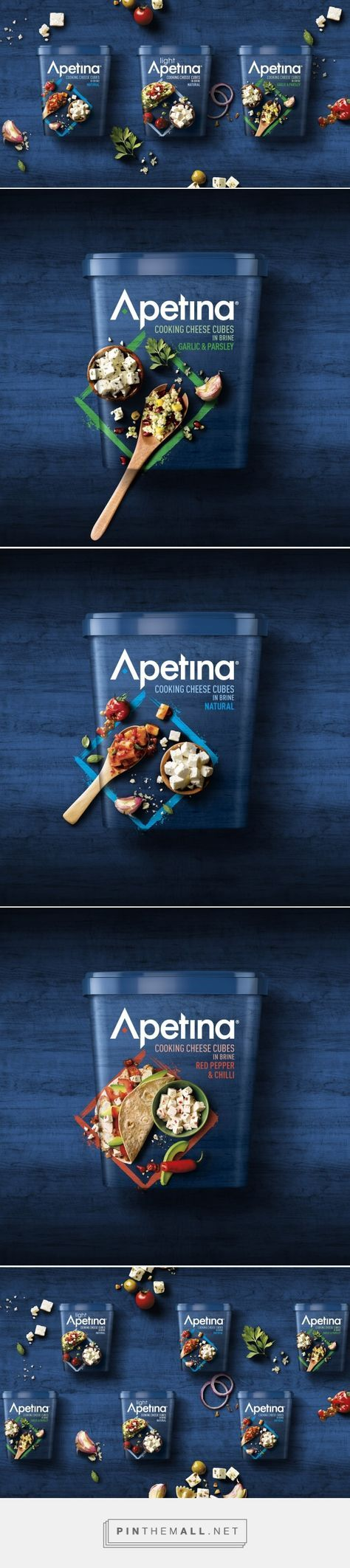 Apetina Redesign - Packaging of the World - Creative Package Design Gallery - http://www.packagingoftheworld.com/2017/06/apetina-redesign.html