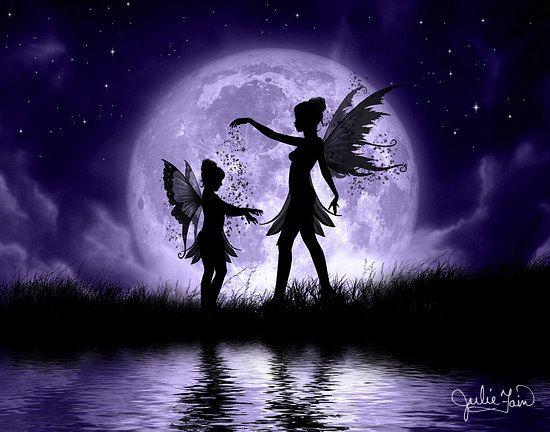 Sisters: Angel, Fantasy, Fairy Sisters, Fairies, Julie Fain, Art, Faerie, Fairytale