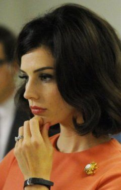 Jessica Paré, 'Mad Men'- Ahh, that hair!